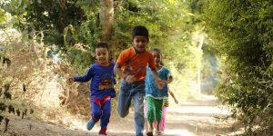 Kids Are Running